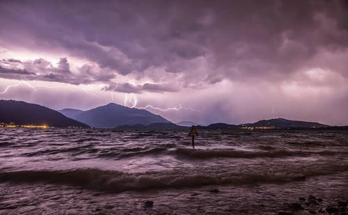Platz 18 – 443 Gefällt mir: Gewitter über der Rigi, aufgenommen in Zug (8. August). (Bild: Leser Daniel Hegglin)