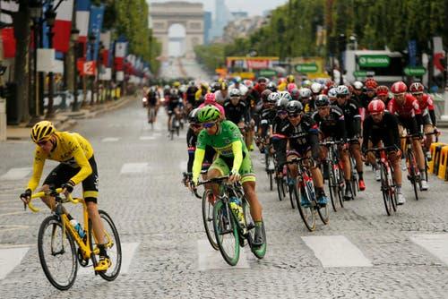 Champs-Elysees (Bild: Epa / Sebastien Nogier)
