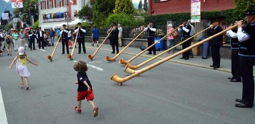 Zentralschweizer Jodlerfest (Bild: Romano Cuonz (Neue NZ))