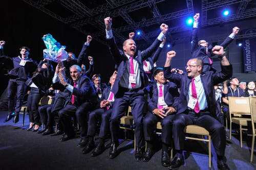 Olympische Jugendspiele 2020: Lausanne erhält den Zuschlag (31. Juli). (Bild: AP / Mohd Rasfan)
