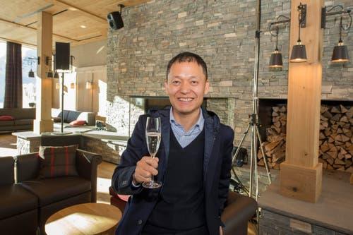 Investor ist Yunfeng Gao, ein chinesischer Unternehmer aus Shenzhen, Besitzer der Shenzhen Han's Laser Technology Co. Ltd., der verschiedene Hotels gehören. (Bild: Keystone / Urs Flüeler)