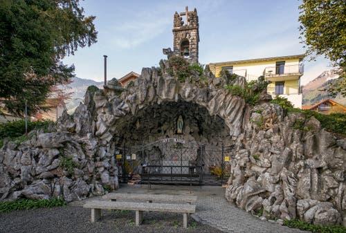 Kanton Nidwalden: Lourdesgrotte in Beckenried (Bild: Fachstelle Denkmalpflege Nidwalden)