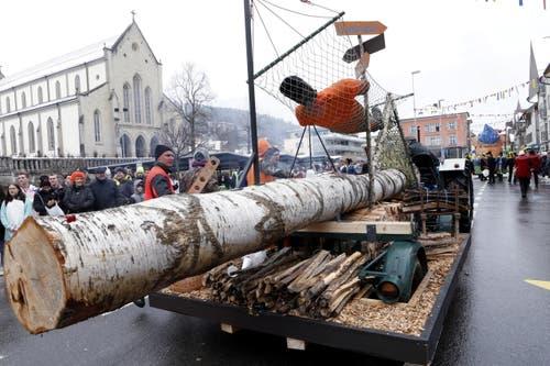 Holzer-Wagen (Bild: Werner Schelbert (Unterägeri, 11. Februar 2018))