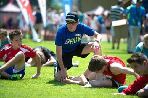 Schweizerischer Schulsporttag (Bild: Nadia Schärli (Neue LZ))