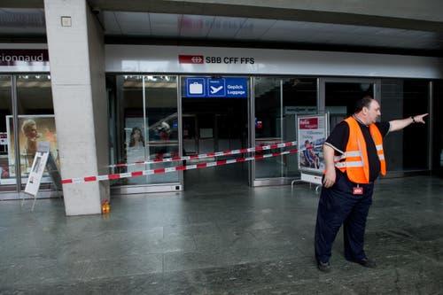 Hier gibt es zur Zeit keinen Service (Bild: Eveline Beerkircher / Neue LZ)