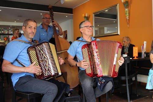 Ländlermusik in den Beizen von Altdorf (Bild: Elias Bricker / Neue UZ)