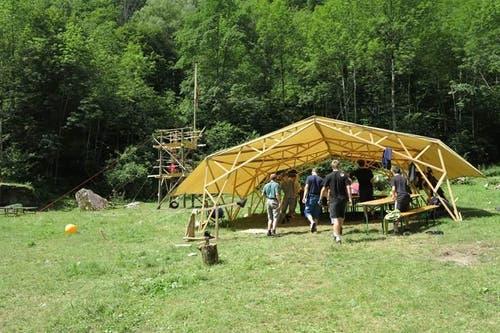 Zwei Jahre zuvor fand das Sommerlager in Cevio TI statt.