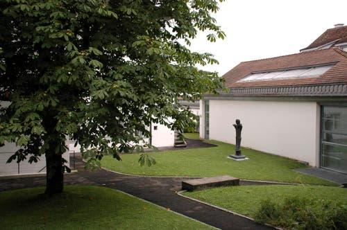 Kanton Zug: Garten des Kunsthauses Zug (Bild: Kunsthaus Zug)