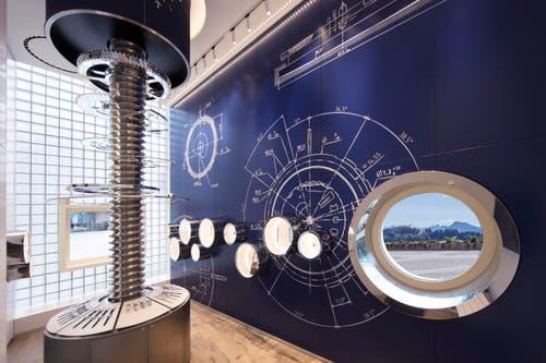 Mechanische Uhr im Swatch-Shop (Bild: PD)