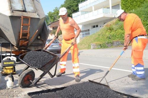 Der heisseste Job, den die Schweiz zu bieten hat, hier in Zürich. (Bild: Keystone)