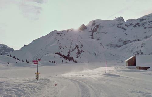 Trübsee ob Engelberg mit Blick Richtung Titlis (Bild: Google Street View)