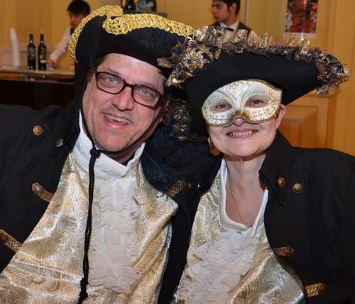 Beni Lanquetin Boog und René Boog. (Bild: Claudia Surek)