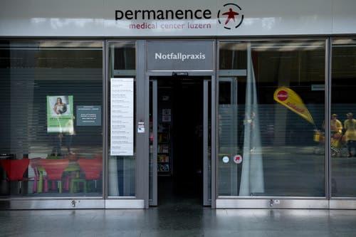 Die Anlaufstelle für Notfälle hatte selbger einen. (Bild: Eveline Beerkircher / Neue LZ)