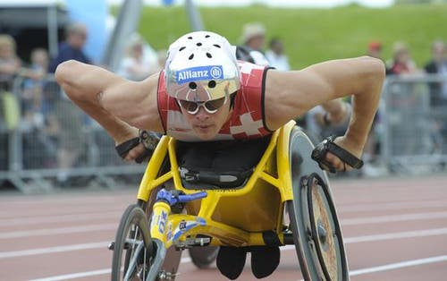 Marcel Hug in Aktion über 5000m. (Bild: PD)