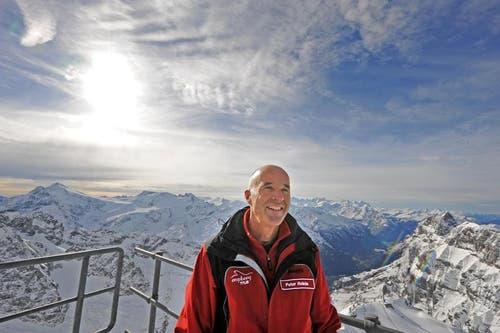 Peter Reinle, Marketingleiter Titlis Bahnen. (Bild: Eveline Beerkircher/Neue LZ)