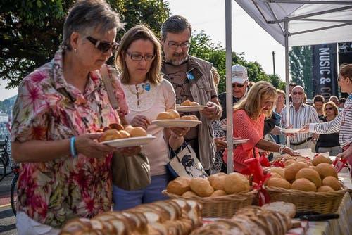 Das traditionelle Bäckerzmorgen ist auch heuer ein Renner. (Bild: pd)