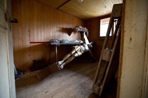 Blick in die Vorratskammer des Pächterhauses. (Bild: Manuela Jans-Koch/Neue LZ)