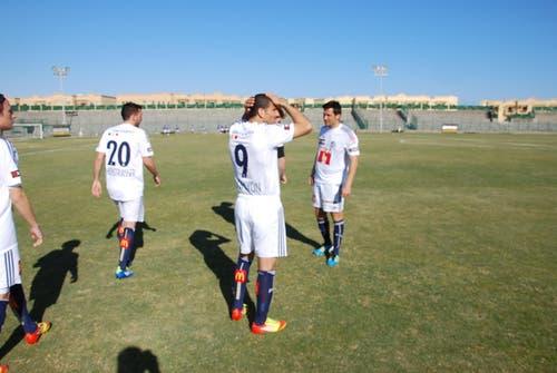 Der neue FCL-Spielmacher Moshe Ohayon ging mit der Nummer 9 aufs Feld. (Bild: Daniel Wyrsch / Neue LZ)