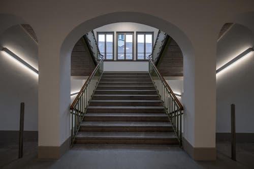 Im sanierten Kloster können bis zu 260 Menschen mit Behinderung einer täglichen Beschäftigung nachgehen - 100 mehr als noch vor der Renovierung. (Bild: Pius Amrein)