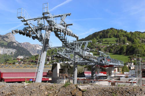 Talstation in Engelberg. (Bild: Mike Bacher)
