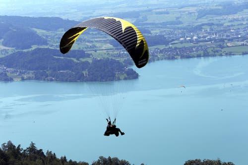 Zugersee (Bild: Werner Schelbert / Neue ZZ)