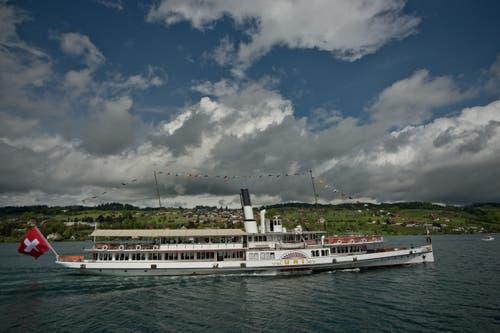 Dampfschiff Uri (Bild: Pius Amrein / Neue LZ)