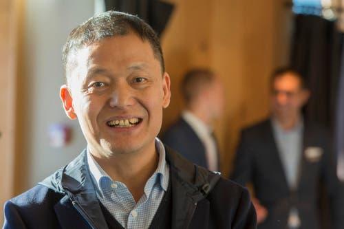 2. Dezember: Es wird öffentlich bekannt, dass der chinesische Investor Yunfeng Gao das Luzerner Luxushotel Palace gekauft hat. (Bild: Keystone)