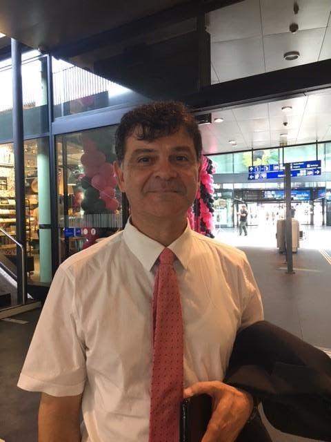 Issam Chatila (52), Oberengstrigen (ZH): «Ich finde das Konzept ganz gut, und der Laden sieht schön aus. Auch die Preise sind in Ordnung, wie ich finde. Ich freue mich, wenn der erste Laden in Zürich eröffnet wird.» (Bild: PD)