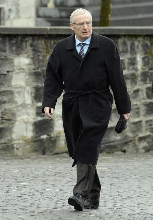 Der bisherige Nidwaldner Regierungsrat Alois Bissig (CVP) wurde im 1. Wahlgang nicht wiedergewählt. (Bild: Keystone / Urs Flüeler)