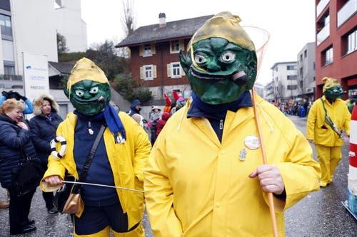 Fasi Gruppe Hoduhönd aus Cham. (Bild: Werner Schelbert (11. Februar 2018))
