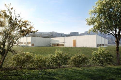 Ausblick vom Bognauerbach. (Bild: Visualisierung Campus Sursee)