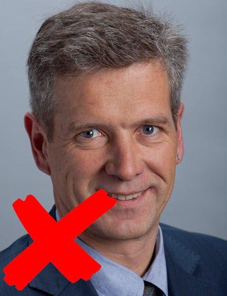 Thomas de Courten (BL) wird vom Fraktionsvorstand nicht vorgeschlagen. (Bild: parlament.ch)