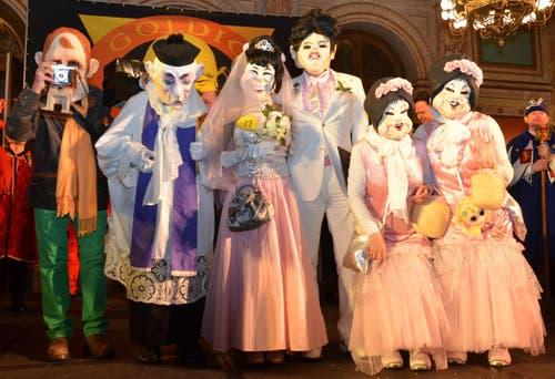 Hochzeit auf Schloss Meggenhorn (Bild: Claudia Surek)