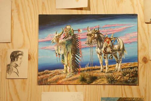 Angy Burris Ausstellung «Meine Träume habe ich mir immer selbst gemacht», 2009 in der Kornschütte. (Archivbild Neue LZ)