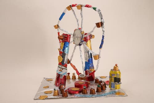 «Riesen Rad» von Tiuri Tischer, Affoltern am Albis (Bild: pd)