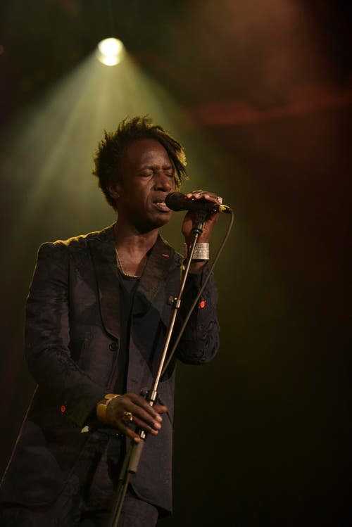 Saul Williams. (Bild: Marcel Meier / Jazz Festival Willisau)