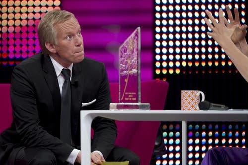 TV-Moderator Johannes B. Kerner. (Bild: Keystone/Sigi Tischler)