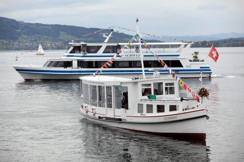 Die «Schwyz» empfängt am 12. Mai den «Schwan». (Bild: Christoph Borner-Keller / Neue ZZ)