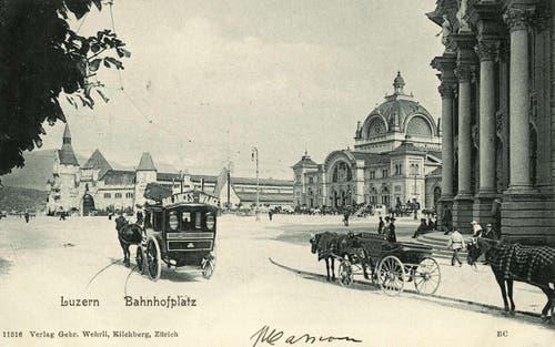 Hauptpost, 1899 (Bild: PD)
