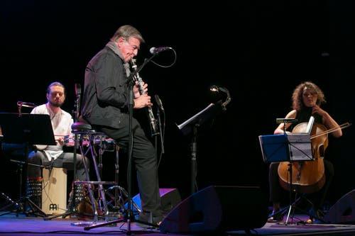 """Rolf Kühn TRIO """"SPOTLIGHTS """" im Hauptprogramm am Samstagabend im Theater an der Mürg in Stans. (Bild: André A. Niederberger)"""