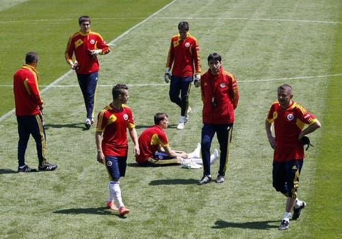Im November schlugen sie EM-Teilnehmer Griechenland 3:1 und Ende Februar gab es ein beachtliches 1:1 gegen Uruguay. (Bild: Keystone)