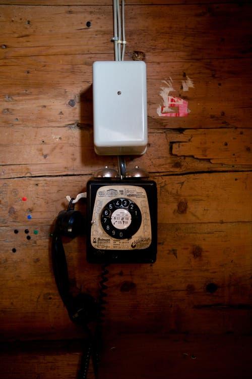 Ein altes Telefon. (Bild: Manuela Jans-Koch/Neue LZ)