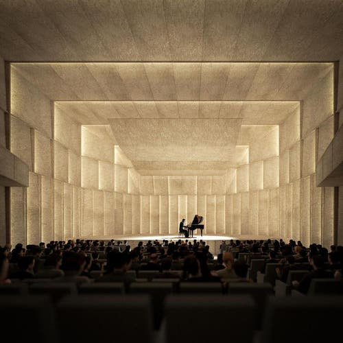 Kammermusiksaal (Bild: Enzmann Fischer & Büro Konstrukt)