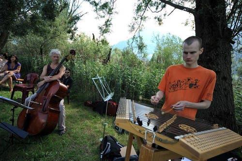 Verschiedenste Instrumente kamen zum Einsatz. (Bild: Urs Hanhart)