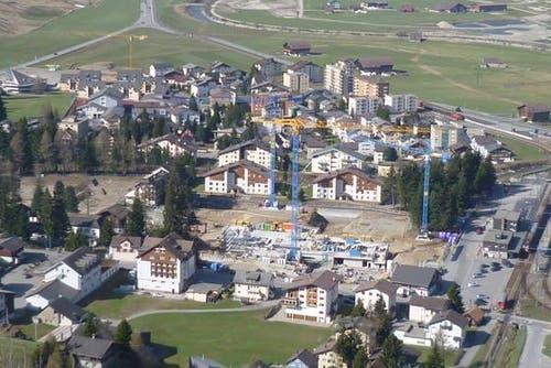 Die Baustelle am 20. April 2011. (Bild: PD)