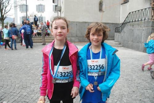 Emma Berger (links) und Camille Bieri aus Luzern. (Bild: Swiss-Image)