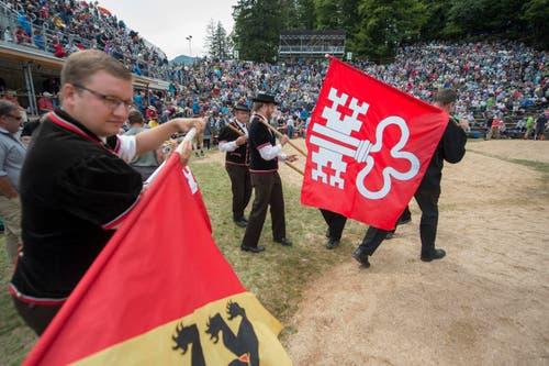 Der Brünig als Übergang von Innerschweiz ins Bernische ist auch ein sportlicher Kampfplatz verschiedener Regionen. (Bild: Keystone / Urs Flüeler)