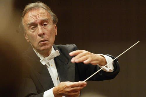 20. Januar: Der italienische Dirigent Claudio Abbado starb im Alter von 80 Jahren. Er war mit dem Lucerne Festival eng verbunden. (Archivbild Neue LZ)