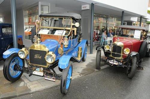 Sarnens Strassen wurden für ein Wochenende zum Verkehrs-Museum. (Bild: Geri Wyss / Neue OZ)
