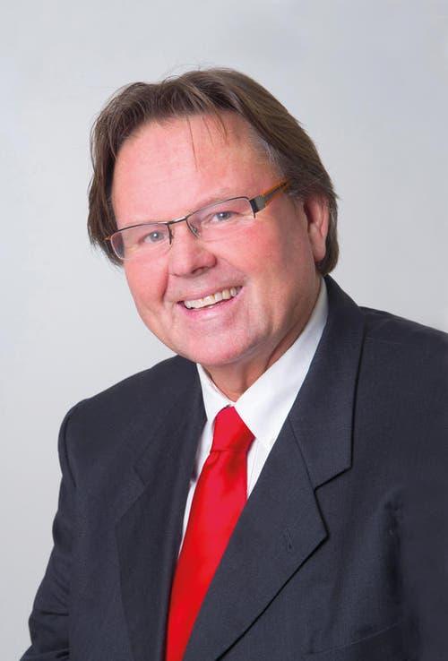 Albert Frank, Buochs, Marketing/Kommunikation, SVP, neu. (Bild: pd)